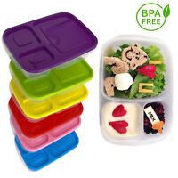 Plastic Lunch Box Bento Meal Prep Food Storage Container