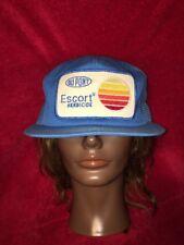"70's DuPont ""Escort"" Herbicide Mesh SnapBack Trucker Hat K-PRODUCTS USA Farmer"