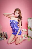 Sexy Women Lady Babydoll Lingerie Fishnet Underwear Sleepwear Dress 069 New