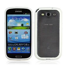 TPU Bumper Frame Case Skin Covers for Samsung Galaxy S III S3 i9300 White Color