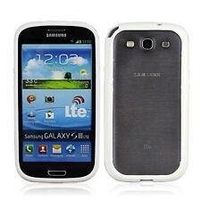 TPU Bumper Protective Frame Case Cover for Samsung Galaxy S3 Mini I8190 White