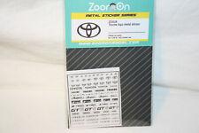 Toyota Logo Metal Sticker - ZoomOn
