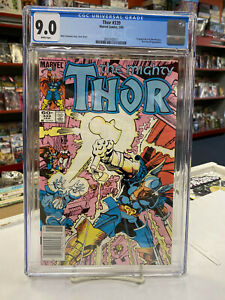 THOR #339 Newsstand (Marvel, 1983) CGC Graded 9.0 ~ Beta Ray Bill ~ WHITE Pages