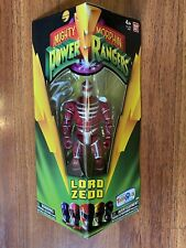 "Mighty Morphin Power Rangers LORD ZEDD 5"" Legacy Figure Bandai 2016 Evil Alien"
