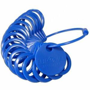 Ringmaß aus Kunststoff -- Einfacher geht es nicht -- Ringmass Ringgröße NEU