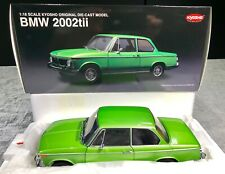 1:18 BMW 2002tii (Taiga Green) Extremely RARE & Hard to Find Colour BNIB KYOSHO