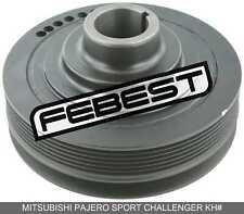 Crankshaft Pulley For Mitsubishi Pajero Sport Challenger Kh# (2008-)