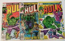 The Incredible Hulk #226 231 235 Marvel Comic Book Lot 3 Bronze Age High Grade