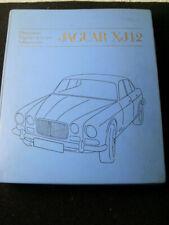 Jaguar XJ12 Reparatur Handbuch Repair Operatian Manual 1972