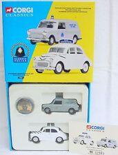 Corgi Toys Classics 1:43 MORRIS MINI STOCKPORT BOROUGH POLICE SET Car MB`97 RARE