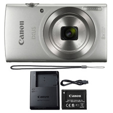 Canon IXUS 185 / ELPH 180 20MP Compact Digital Camera Silver 20.0 MP 16X Zoom
