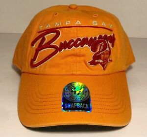 Forty Seven Brand Tampa Bay Buccaneers Orange Snapback Hat/Cap New with Stickers