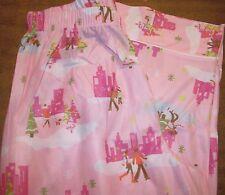 Girls Pajama Pants sz 10 OLD NAVY Pink/Ice Skating,Shopping&Christmas Trees NEW