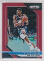 2018-19 Patrick Ewing #/299 Panini Prizm NBA New York Knicks Basketball Card