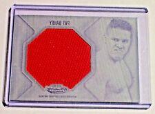 2012 Finest Jumbo Mat Relic Black Printing Plate 1/1 Pat Barry UFC Glory K-1