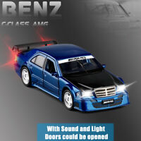 Mercedes C Class w202 DTM 1:32 Metal Diecast Model Car Toy Collection Gift