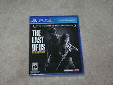 THE LAST OF US REMASTERED...;PS4...***SEALED***BRAND NEW***!!!!!