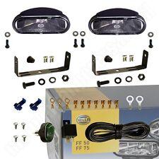 Hella 12V FF-75 Klarglas Nebelscheinwerfer Set FF75 1NA 008 284-801 FF 75