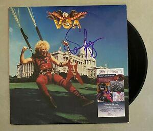 """Sammy Hagar VAN HALEN Signed Autograph Auto """"VOA"""" Album Vinyl LP JSA COA"""