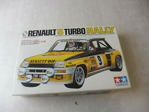 Ancienne maquette voiture, Tamiya, Renault 5 Turbo Rally, 1/24, ref. 2427