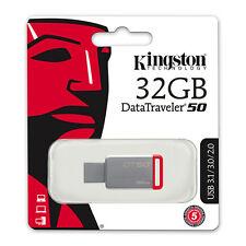 Pen Drive 32GB Kingston DT50 USB 3.1 DT50/32GB