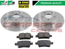 FOR VAUXHALL ASTRA K 2015- REAR BRAKE DISCS AND PAD SET OE QUALITY 264mm