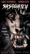 Sasquatch Vhs 2003 Horror Bigfoot Yeti Abominable Snowman Htf