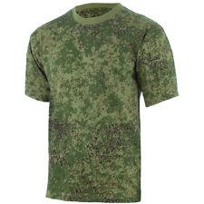 MFH T-Shirt Hombre Táctico Ejército Trabajo 100% Algodón Combate Digital Flora