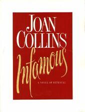 JOAN COLLINS - Original American Press Kit For INFAMOUS Novel 1996  C#52