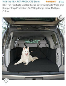 K&H Quilted SUV Cargo Cover