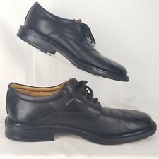 Stafford Mens Oxford Shoe Size 10 1/2 M Black Leather
