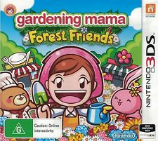 Gardening Mama Forest Friends, Nintendo 3DS game complete, Used