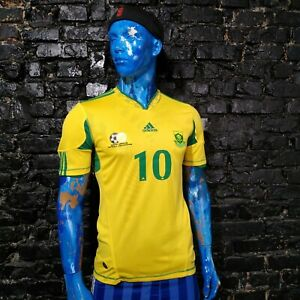 Pienaar South Africa Jersey 2010/11 Home SMALL Mens Maillot Soccer Adidas UA