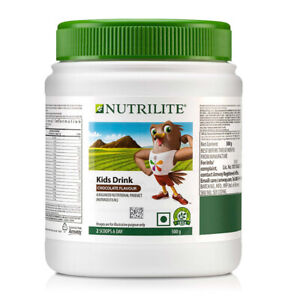 Amway Nutrilite Kids Drink Chocolate Flavour 500 gms / 17.63 oz Pack