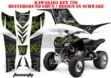 AMR RACING DEKOR GRAPHIC KIT ATV KAWASAKI KFX 450 & 700 TOXICITY B