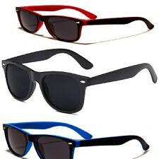 Polarized Wayfare Vintage Retro Sunglasses Unisex Matt Black Free Pouch USA