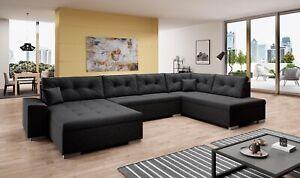 Couchgarnitur Sofa WITOS U Sofagarnitur Polsterecke Wohnlandschaft NEU