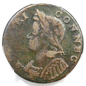 1785 7.2-D R-6 PCGS VF 30 Connecticut Colonial Copper Coin