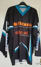 Current Condition Men's Black Print Extra Large Hockey Top