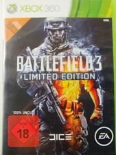 !!! XBOX 360 SPIEL Battlefield 3 Limited Edition USK18, gebraucht aber GUT !!!