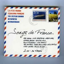 2 CD (NEUF) SONGS DE FRANCE(N.SIMONE L.ARMSTRONG G.JONES E.FITZGERALD G.BENSON