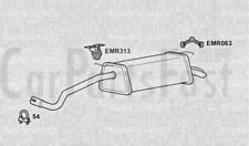 EXHAUST REAR BACK BOX Skoda Fabia 1.9 Diesel Estate 02/2001 to 02/2001