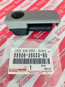 2003-2009 Toyota 4Runner Glove Box Lock Stone Color Genuine OEM  55506-35020-B0