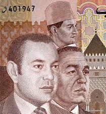 MAROC billet neuf de 100 DIRHAMS Pick 70 les 3 ROIS   MOHAMMED V, VI , HASSAN II