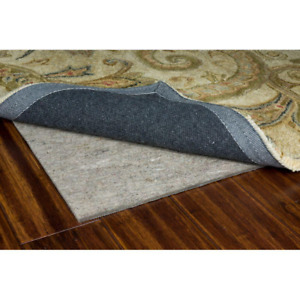 Rug Pad 6 ft. x 9 ft. Scratch Prevention Latex Foam Hand Wash Synthetic Fiber