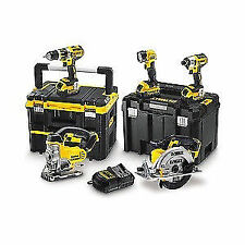 Power Tool Combination Sets with 5 Tools Battery Included