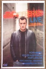 JIM JEFFERIES 2016 Gig POSTER Portland Oregon Comedy Show