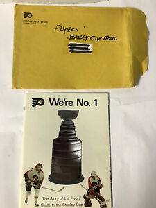 1974 Philadelphia Flyers Program We're No.1 Stanley Cup Skate to the Stanley Cup