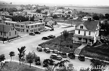 Looking Over Rooftops of Sisseton, South Dakota - 1939 - Historic Photo Print