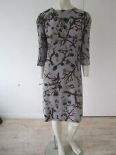 New Marni Branch Print Silk Dress - RRP £925